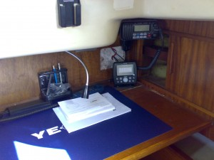 Chart Table after plotter install