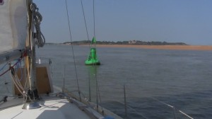 Entrance to the Deben