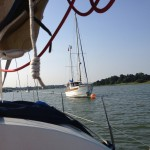 Coming up the Deben