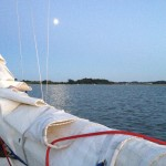 Moonrise over the Deben