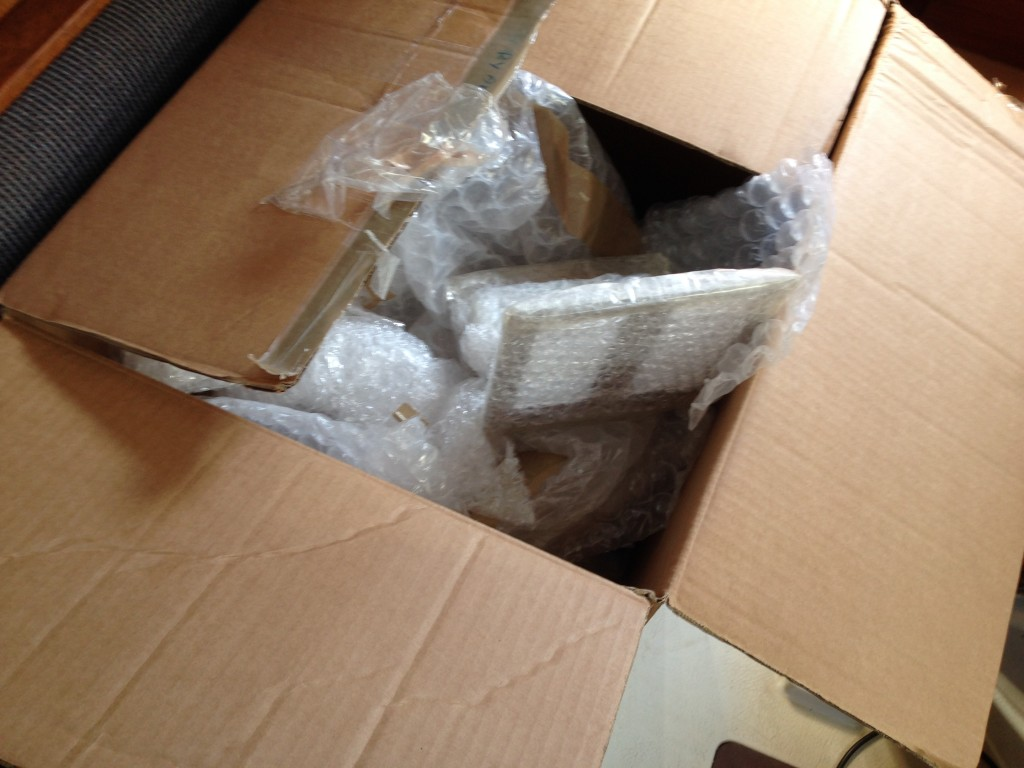 Unpacking the box
