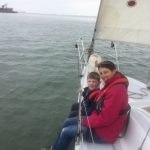 Sailing down the Medway